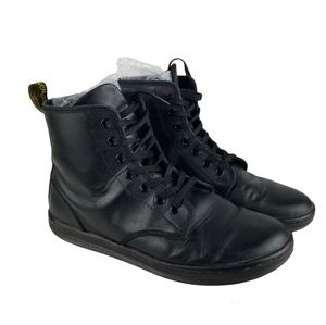 Dr. Martens Leather Lace-Up Boots Size 8